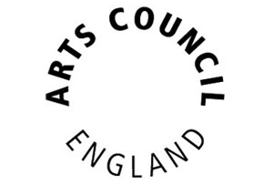 Arts council logo for video events company Cambridge