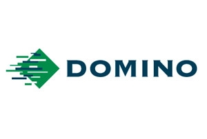 Domino logo for film company Cambridge