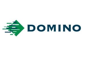 Domino logo for film company Cambridge