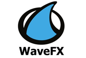 WaveFX logo for cambridge video company