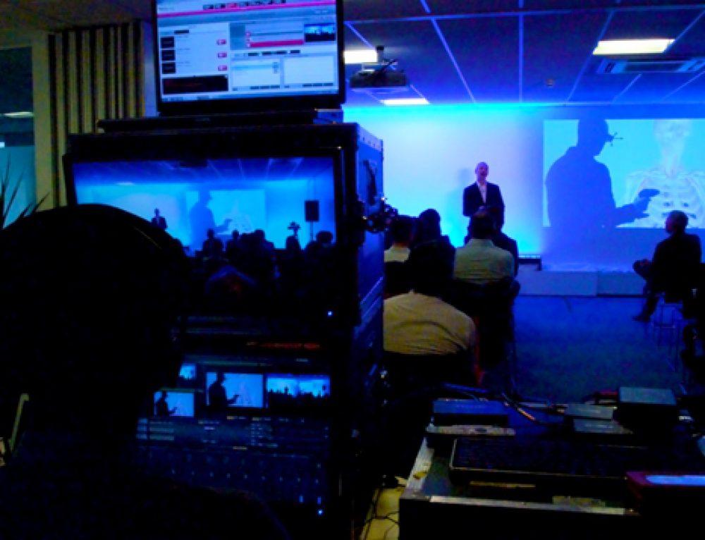 WaveFX provide event production for Dassault Systèmes